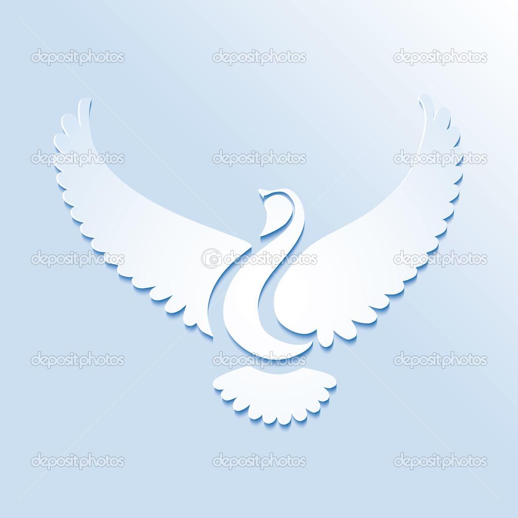 Uccello Stilizzato O Colomba Vettoriali Stock Rsinha 33960237