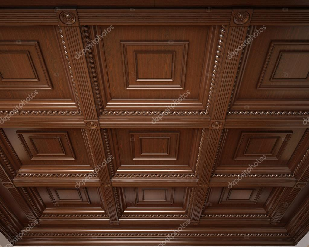 plafond caisson en bois classique photo 40954773. Black Bedroom Furniture Sets. Home Design Ideas