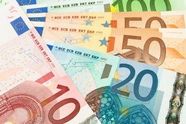 Money cash closeup