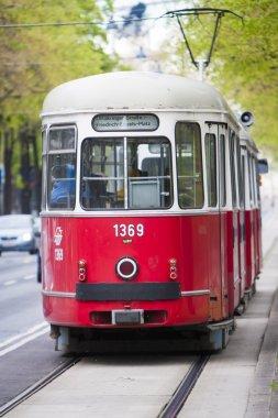Tram in Vienna Austria