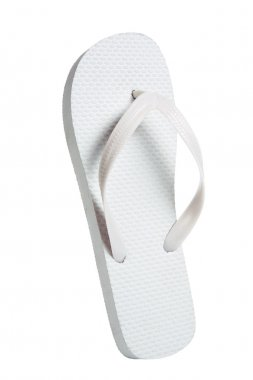 White summer beach shoes