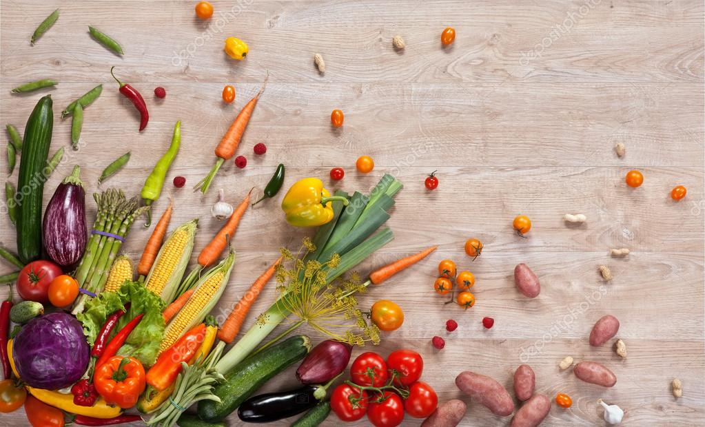 Healthy Food Background Stock Photo 50685349