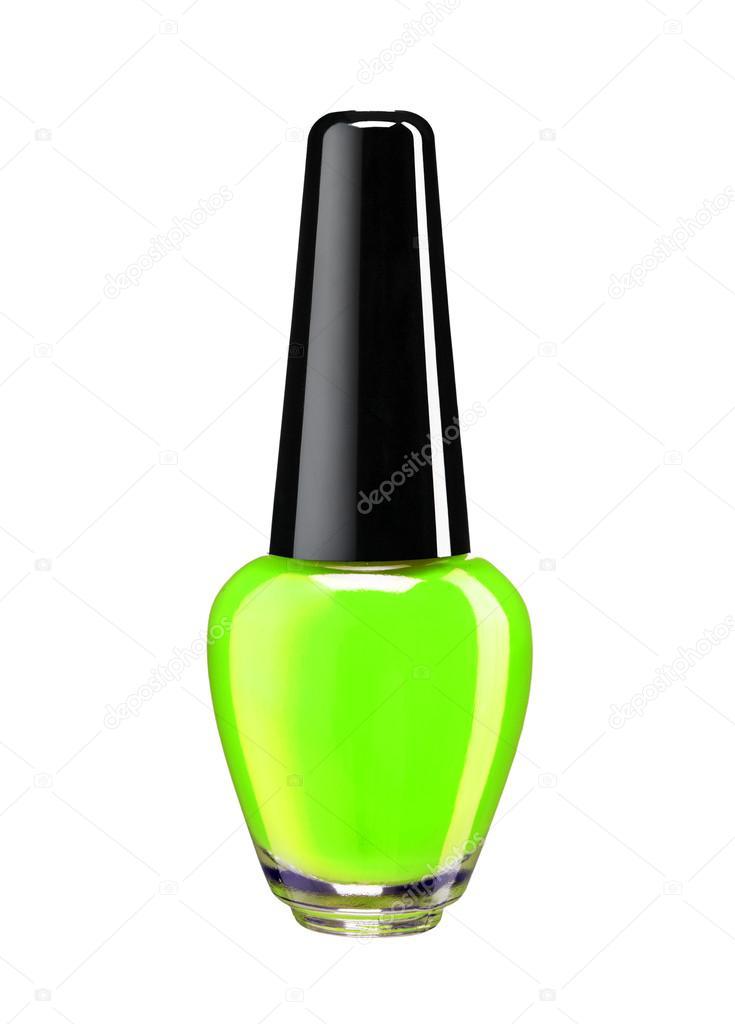 botella de esmalte de uñas verde — Fotos de Stock © RomarioIen #51328913