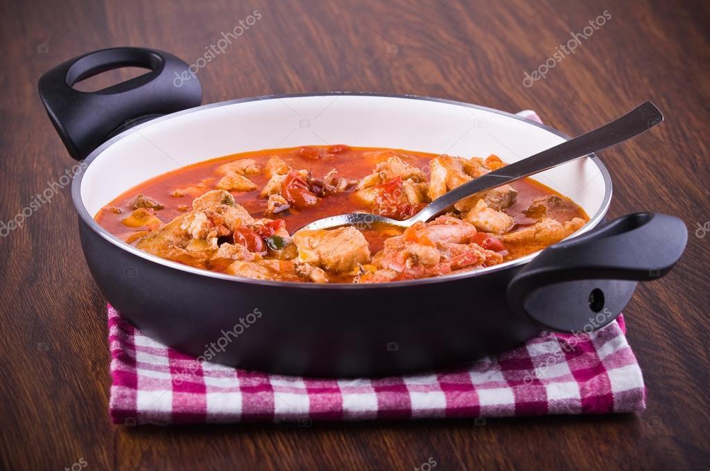 Fish soup.