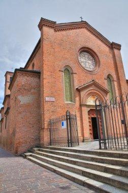 Sanctuary of St. Rita. Piacenza. Emilia-Romagna. Italy.