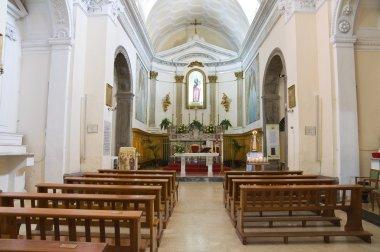Church of St. Carmine. Melfi. Basilicata. Italy.