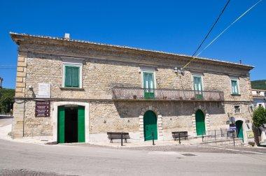 Civetta palace. Alberona. Puglia. Italy.
