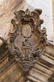 Historický palác. Conversano. Puglia. Itálie