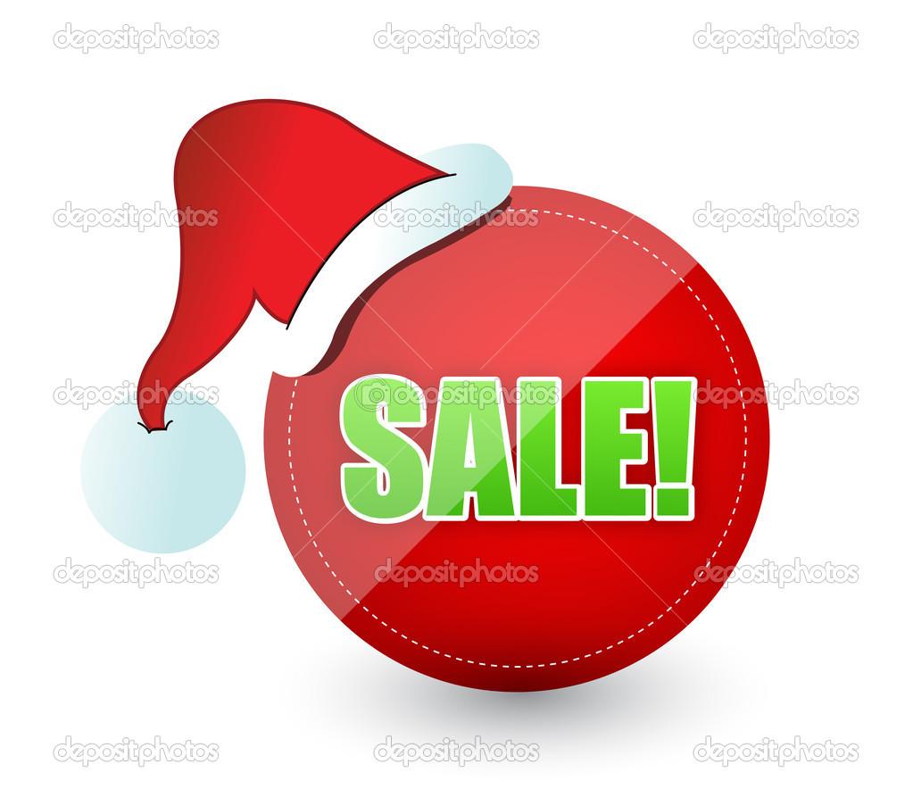 Weihnachten Verkauf Zeichen — Stockfoto © alexmillos #15340869