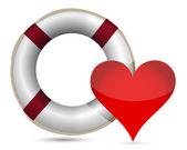 zachránce a srdce