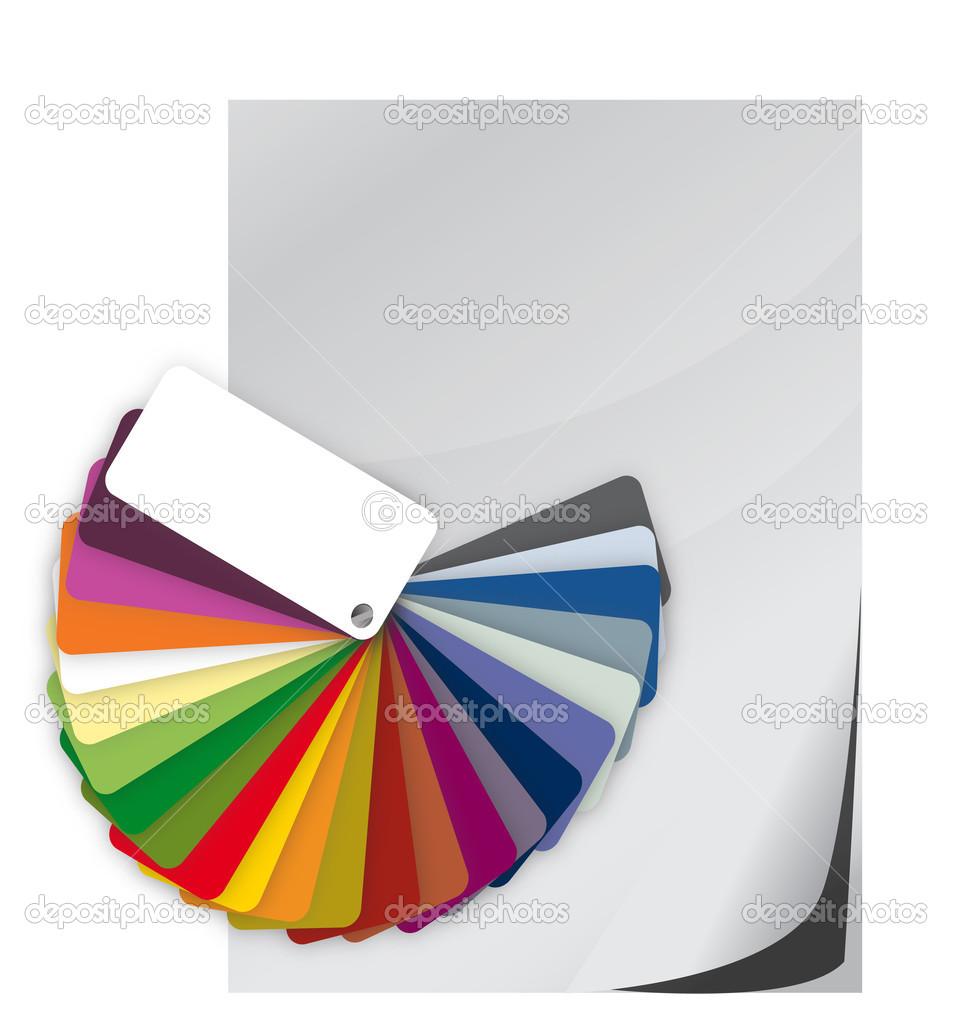 Nuancier Guide Du Spectre Et Papier Vierge Photographie