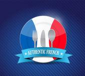 tradiční francouzská restaurace, nabídka obrázek