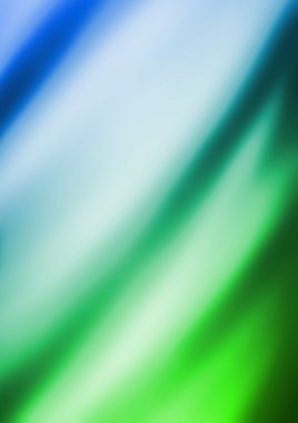 blue and green Artistic fabric texture
