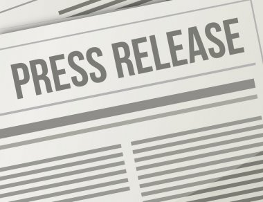 press release closeup illustration design graphic