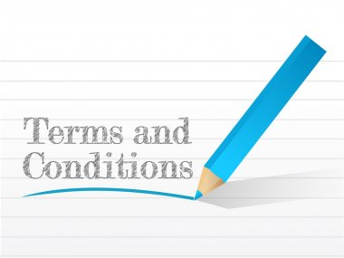 terms and conditions written