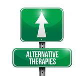 alternativní terapie ilustrace design
