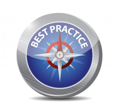 best practice compass illustration design