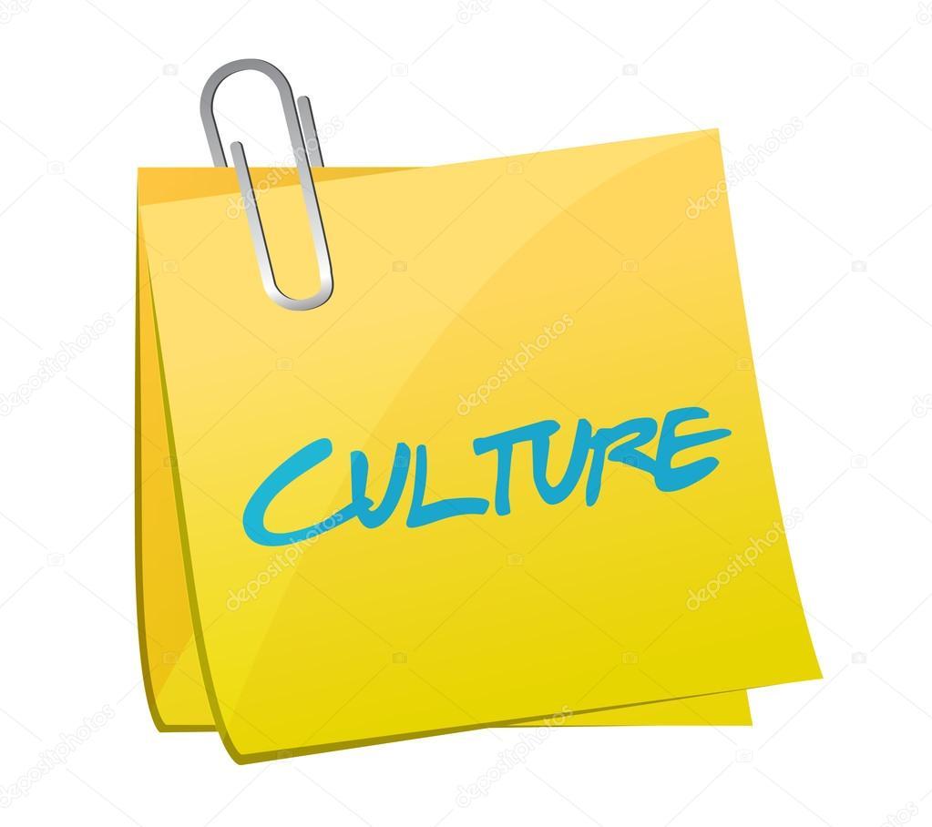 culture post message illustration design