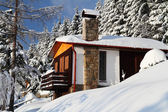 zimní domek
