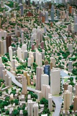 3D model of the city of Shanghai