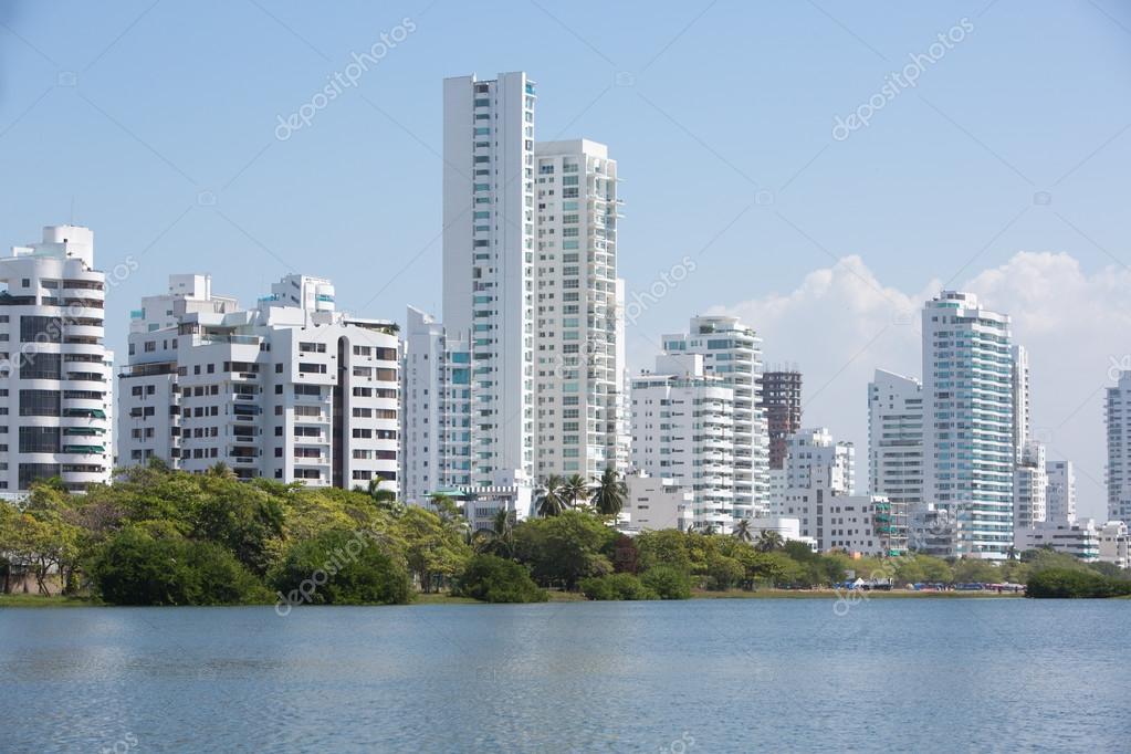 Bocagrande neighborhood of Cartagena