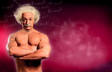 Scientist like Albert Einstein thinks