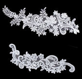 wedding flower laces