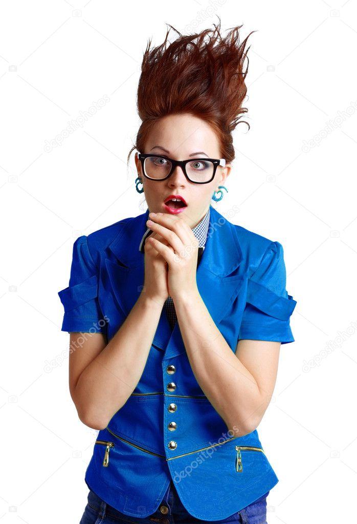 Картинки по запросу фото волосы дыбом у женщины