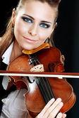 Fotografie Violinist girl