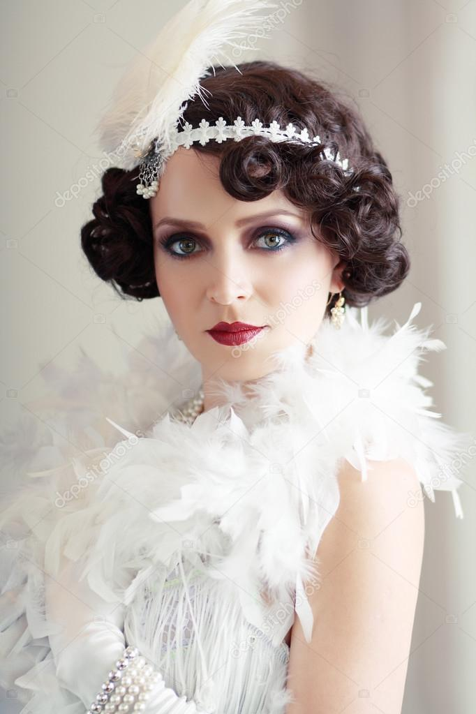 flapper hairstyles - 700×900