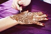 Fotografia hennè applicato