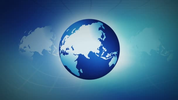 global business news background