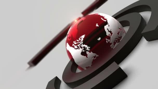 globální obchodní Novinky pozadí
