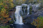 Bald River Falls in October