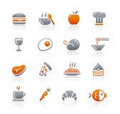 Photo Food Icons - 1 - Graphite Series