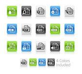 dokumenty ikony - 1 – čistá série