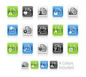 dokumenty ikony - 2 – čistá série