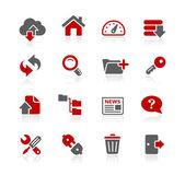Fotografie FTP- und Hosting-Symbole -- redico-Serien