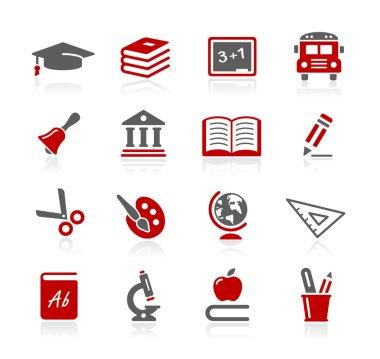 Education Icons -- Redico Series
