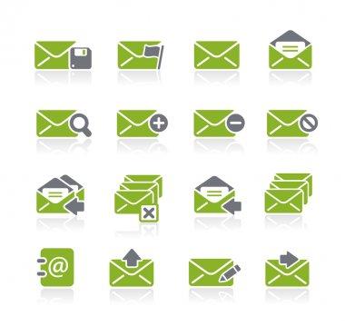 E-mail Icons -- Natura Series