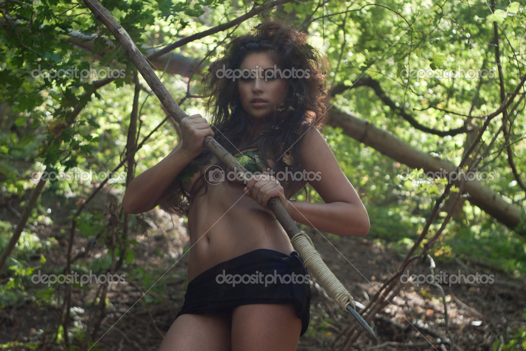Красивые девушки в диком амазонке #6