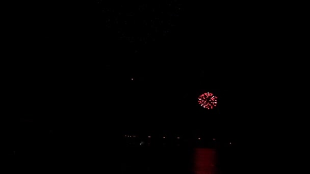 Tűzijáték. idő telik el