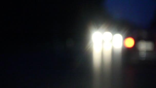 reflektory automobilů lehké bokeh