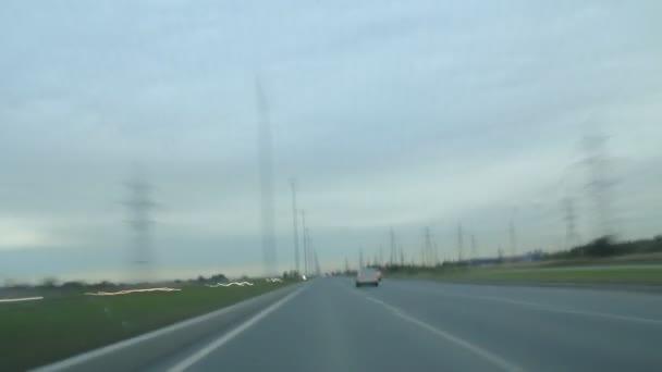 movimento di velocità su strada