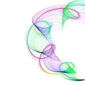 abstraktní zkroucené vlny