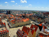 Photo market square in Wroclaw, Poland