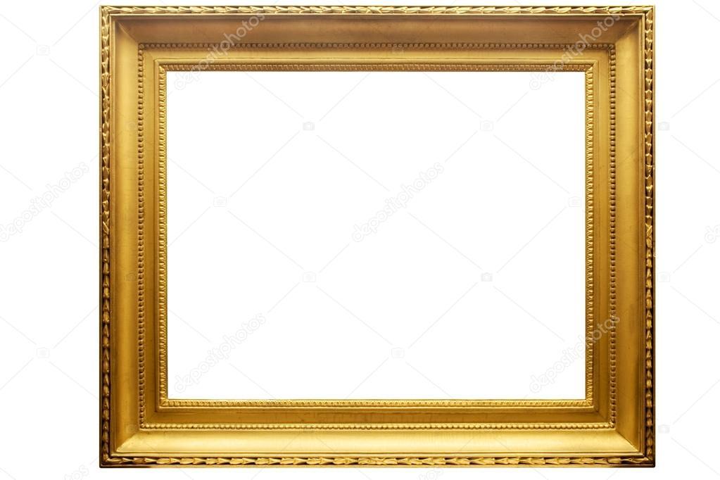 cadre photo dor rectangulaire avec un trac de d tourage photographie winterling 19410689. Black Bedroom Furniture Sets. Home Design Ideas