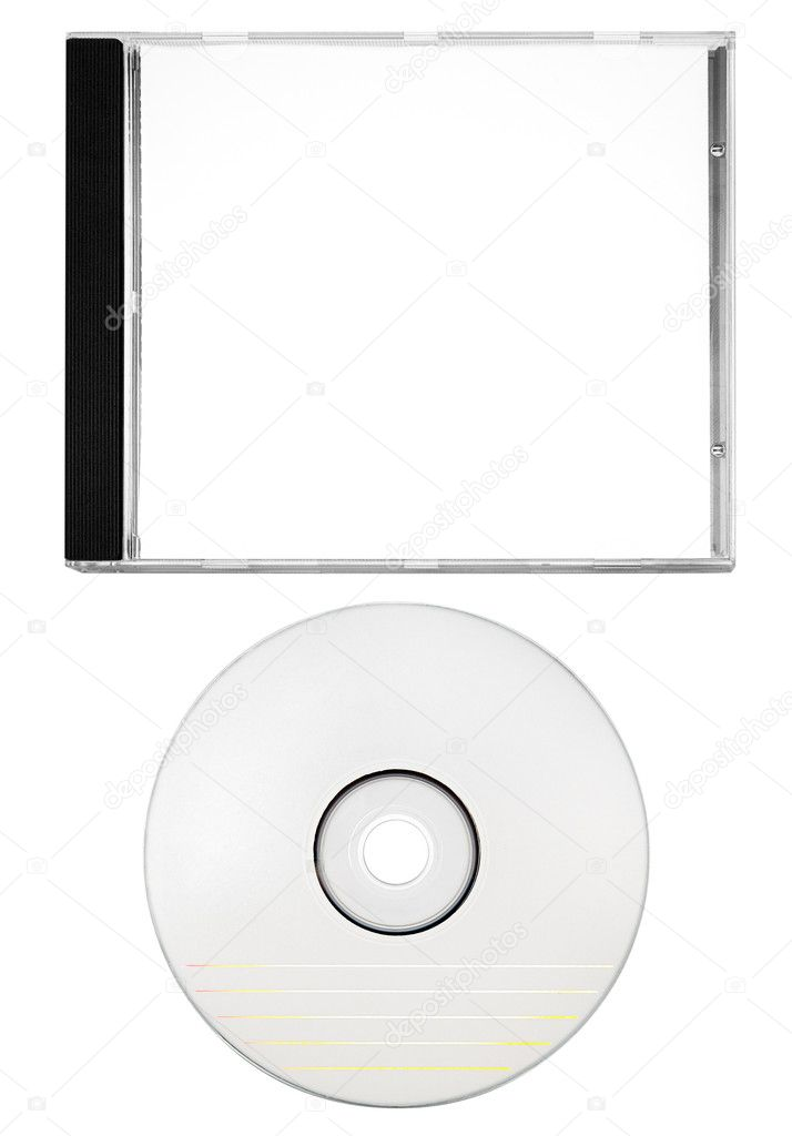 Depositphotos 20149197 stock photo cover and blank disc with