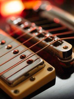elektro gitar soyut