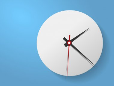 Clock face. Vector. Set up your time.